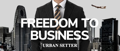 FREEDOM TO BUSINESS URBAN SETTER