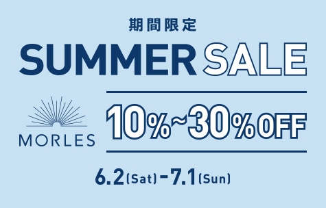 MORLES sale 30%OFF