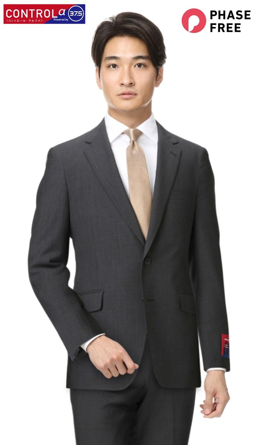 スタイリッシュスーツ【ツーパンツ】【CONTROLα】体感温度を快適にキープPERSON'S FOR MEN