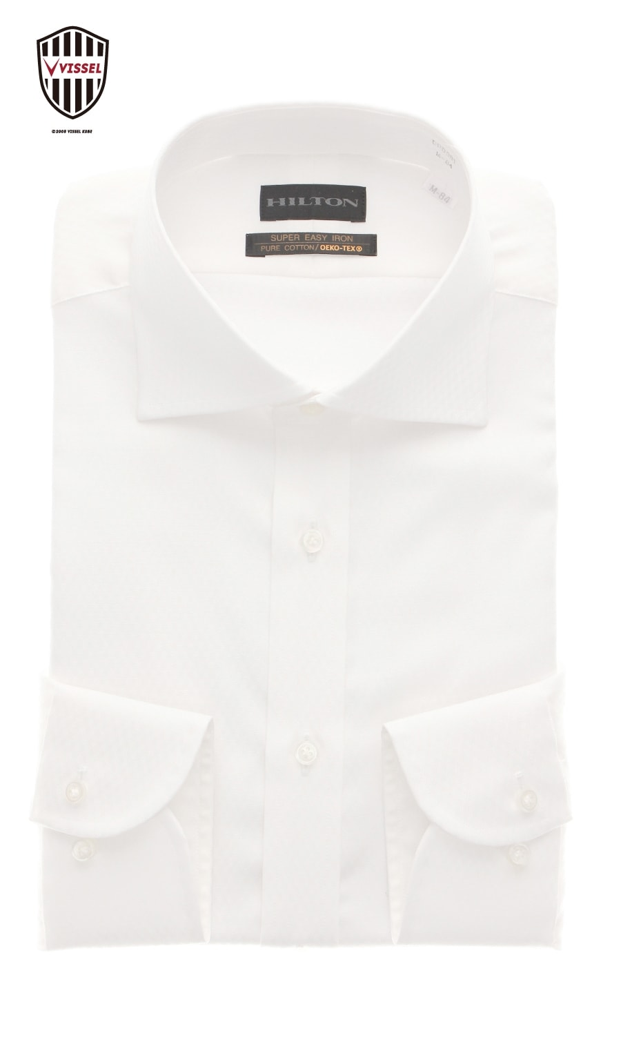 ワイドカラースタイリッシュワイシャツヴィッセル神戸レプリカモデルHILTON