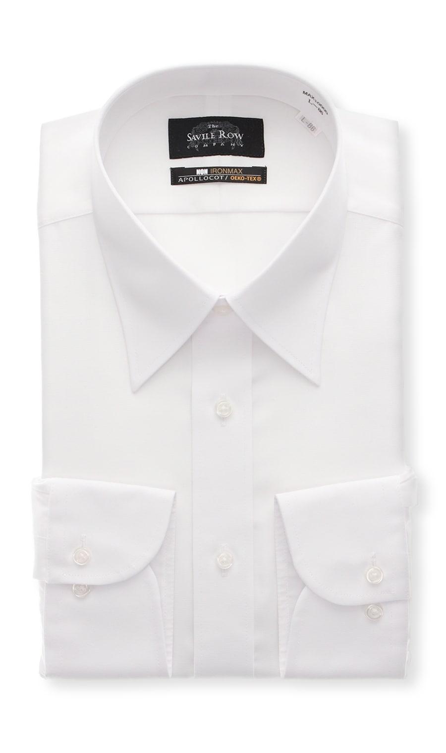 レギュラーカラースタンダードワイシャツ【NON IRONMAX】Savile Row
