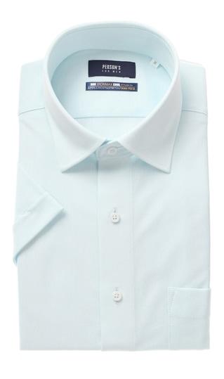 b6af5ab739bcca ワイドカラースタイリッシュニットワイシャツ【NON IRONMAX COOL】