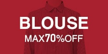 BLOUSE MAX70%OFF